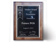 2015 Vendor of Excellence Gold Award