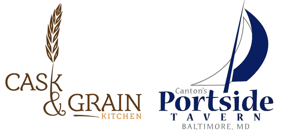 Cask and Portside logos